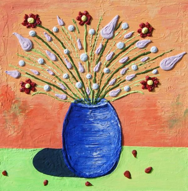 The Old Blue Vase