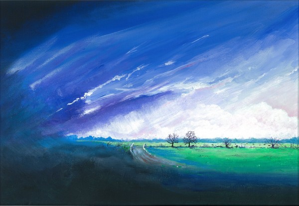 Storm pending across the Meadows