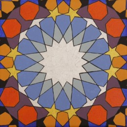 Moroccan Blue Orange